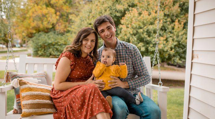 Joy family photo